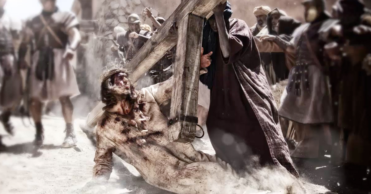 jesus desfigurado