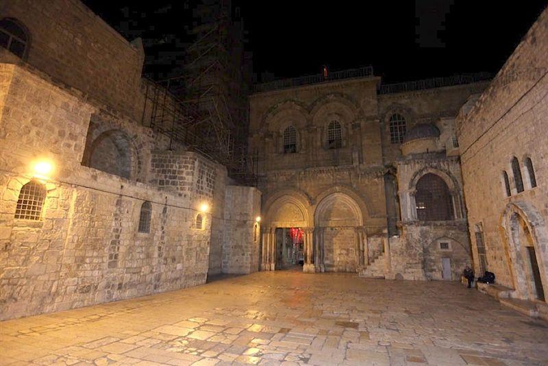 plaza y entrada