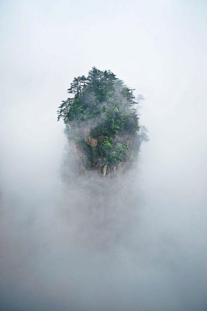 Montañas-Tianzi-China