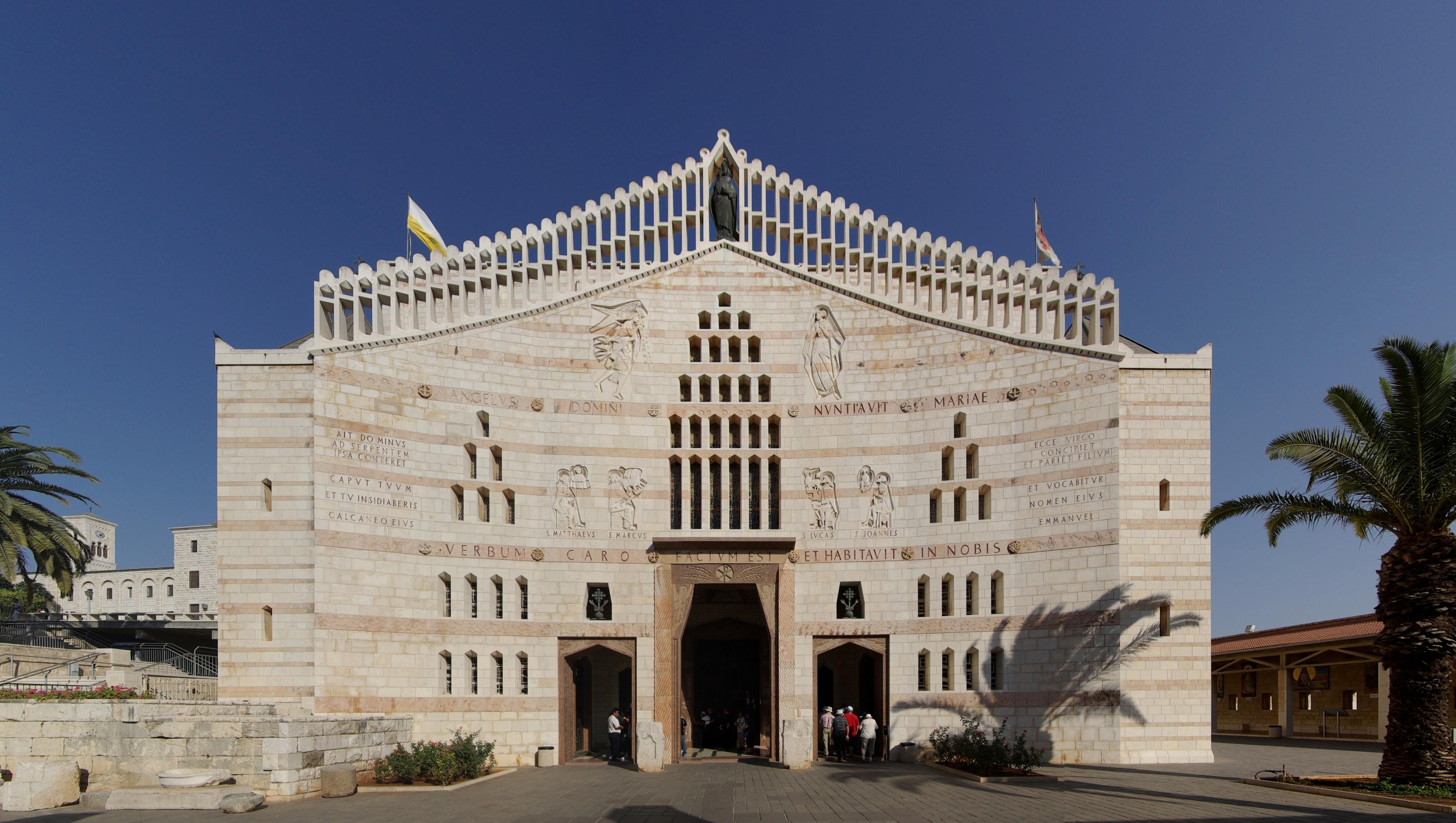 {{de|Nazaret, Verkündigungsbasilika}} {{en|Nazareth, Basilica of the Annunciation}}