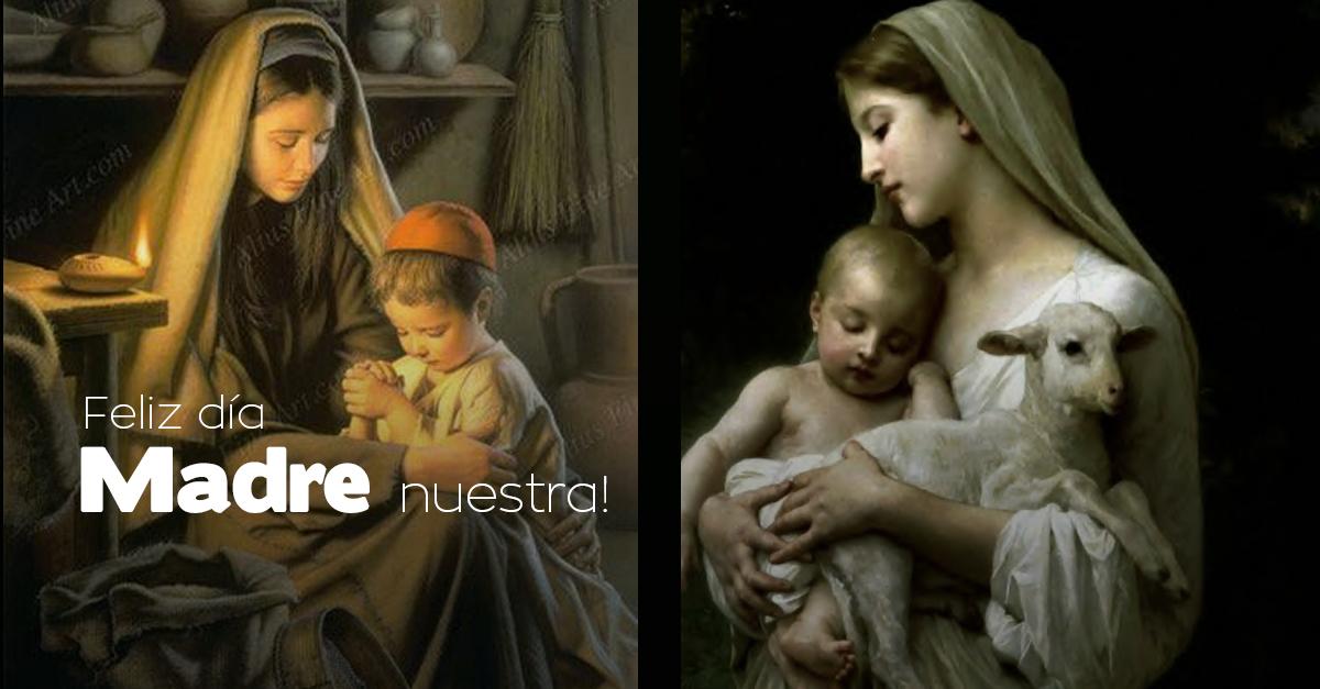 Feliz Dia A Todas Las Madres Especialmente A Ti Madre Maria Que reconozca en la maternidad el florecimiento de su feminidad. catoliscopio