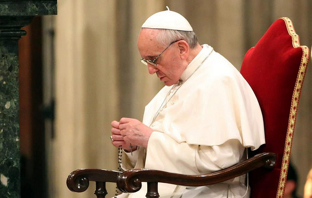 Intenciones de oración del Papa Marzo 2015