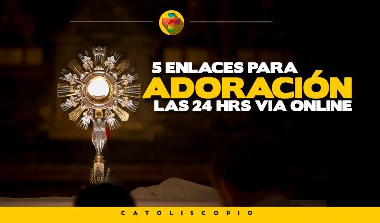 5 enlaces para visitar a Jesús Sacramentado desde tu casa o trabajo