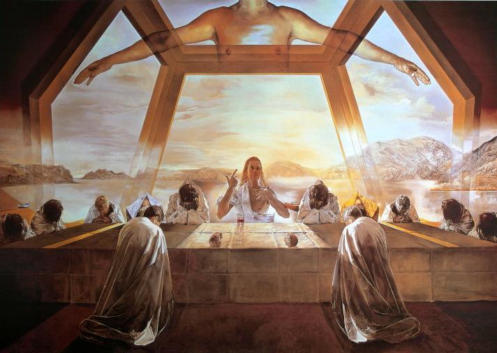 Cristo con sus doce fieles servidores