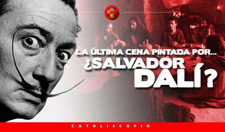 La última cena pintada por Salvador Dalí