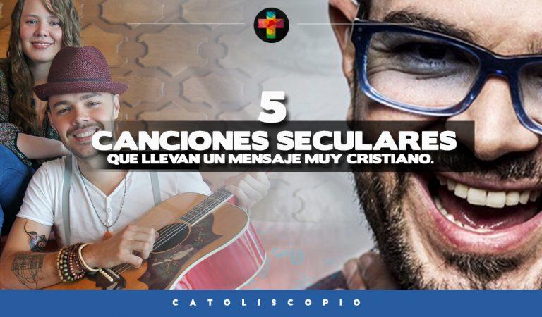 5 Canciones que suenan en la radio y llevan un mensaje muy Cristiano.