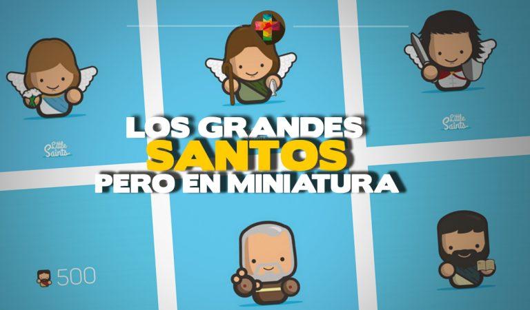 Los grandes Santos en miniatura gracias a un ilustrador #LittleSaints