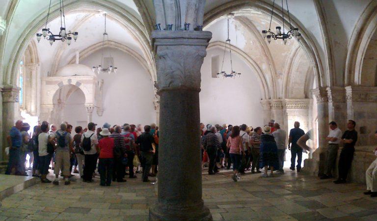 Así luce actualmente el sitio donde Jesús tuvo la última cena con sus discípulos