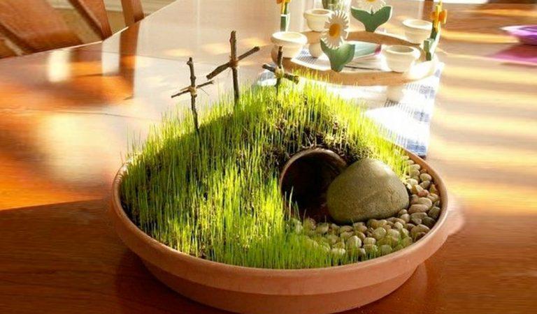 Construye tu mini jardín de resurrección
