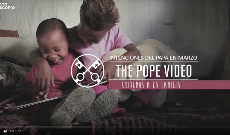 [Video] El Papa lanza nuevo vídeo pidiendo oración por las familias