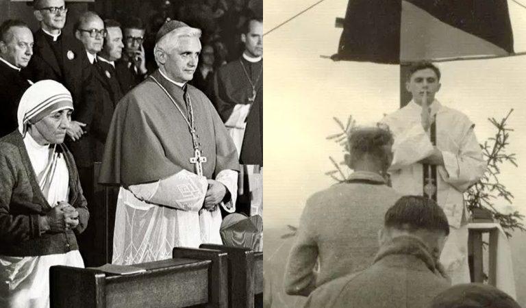 Estas son las 20 fotos que nunca habías visto de Benedicto XVI