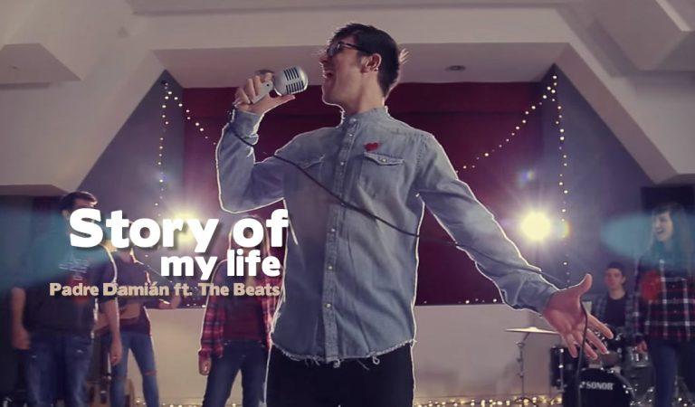 """El padre Damián y su banda cantan """"Story of my life"""" de One Direction"""