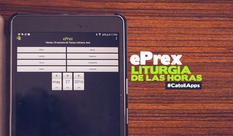 "Lleva la Liturgia de las Horas en tu bolsillo con la app ""ePrex"""