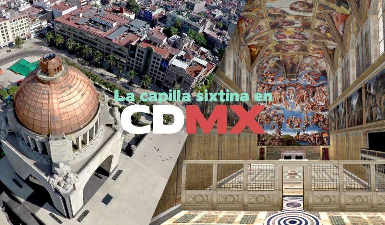 Los mexicanos podrán visitar la capilla Sixtina ¡en CDMX  y gratis!