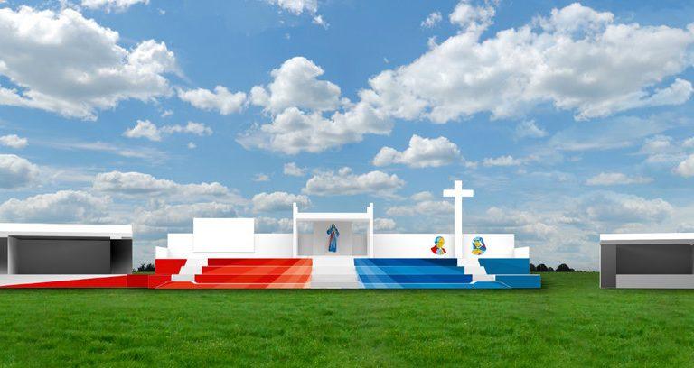 Y así serán los altares de la JMJ 2016