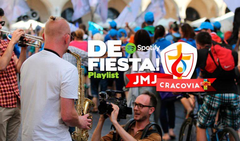 Playlist  Spotify:De Fiesta en la  JMJ Cracovia 2016