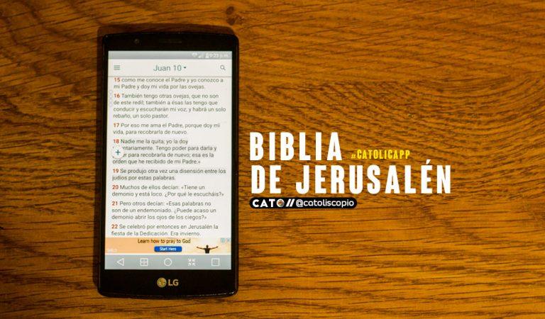Lleva la Biblia de Jerusalén en tu bolsillo con esta app
