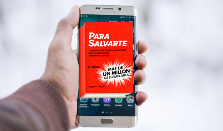 """""""Para Salvarte"""" de Jorge Loring hecho aplicación para tu smartphone"""
