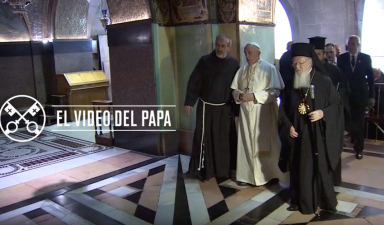 Une tu voz a la mía para pedir por todos los cristianos: Video Del Papa Francisco