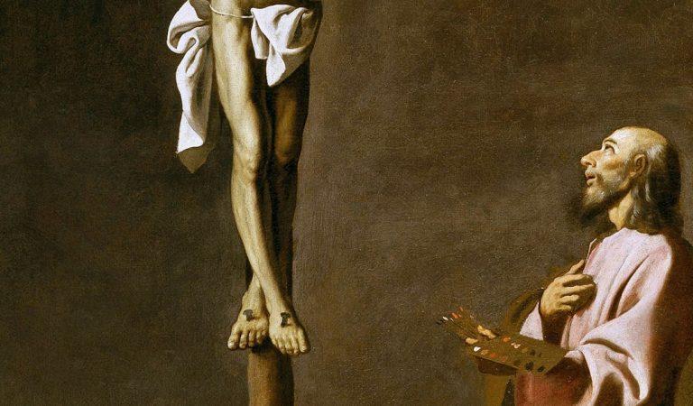 """Conoce a """"San Lucas como pintor"""" una impresionante obra de arte"""