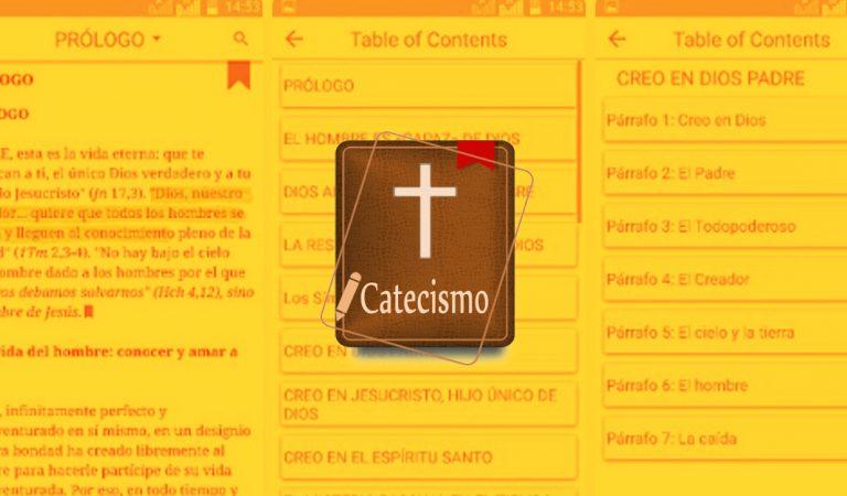 Lleva el catecismo de la Iglesia Católica en tu smartphone con esta app