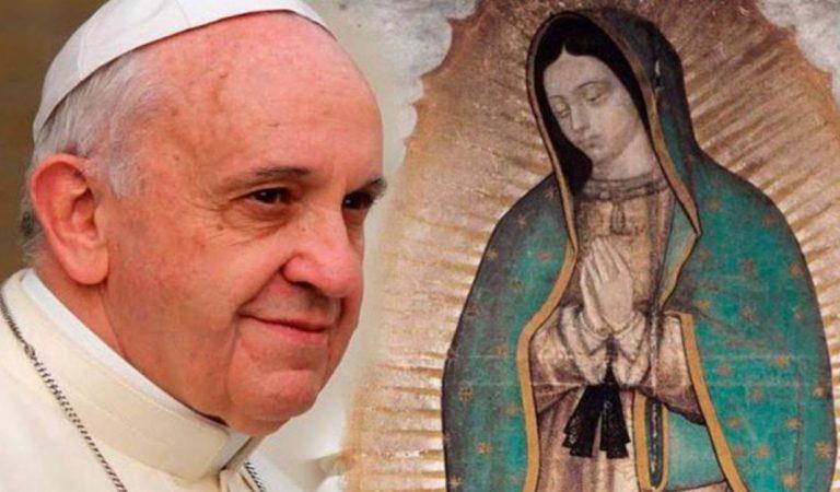 Un pueblo que aún tiene esta vitalidad solamente se explica por Guadalupe: Papa Francisco