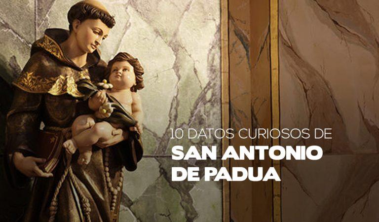 Diez datos curiosos que quizá no sabías de San Antonio de Padua