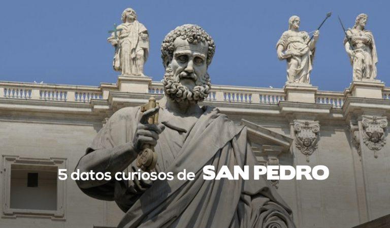 5 datos curiosos que quizás no sabías sobre San Pedro
