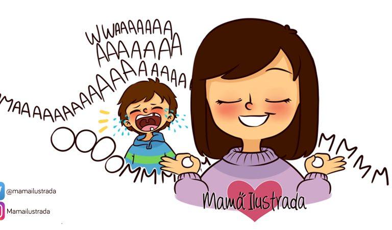 25 divertidas imágenes que ilustran el gran reto de la vida: ¡Ser mamá!