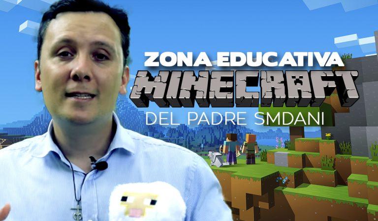 Sacerdote enseña  a jóvenes y adolescentes de Religión a través de Minecraft