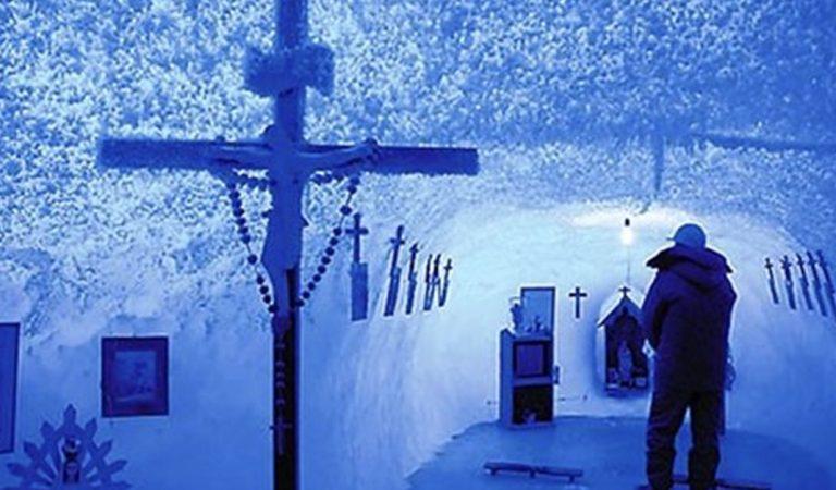 Esta es la capilla más fría del mundo y no, no está en Alaska
