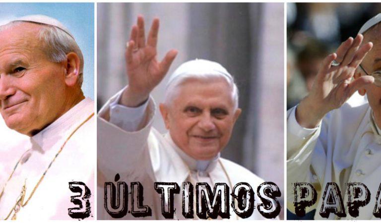 ¡5 Sencillas preguntas para ver a cuál de los últimos tres Papas me parezco más!