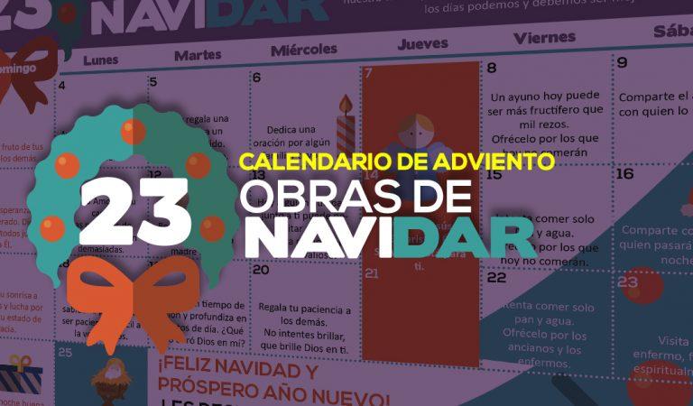 23 obras de Navidar: Nuestra propuesta para este adviento