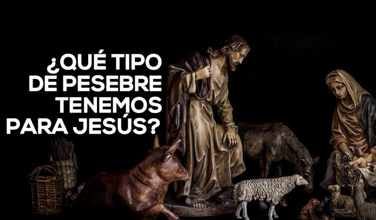 ¿Qué clase de pesebre tenemos para Jesús hoy?