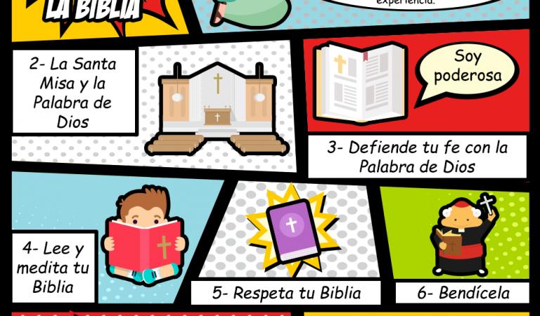 7 maneras de enamorarse de la Biblia