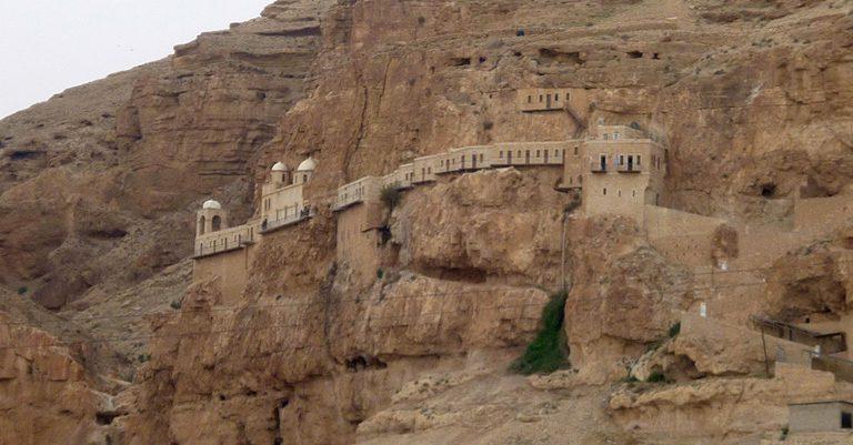 Conoce como luce actualmente el lugar geográfico donde Jesús fue tentado