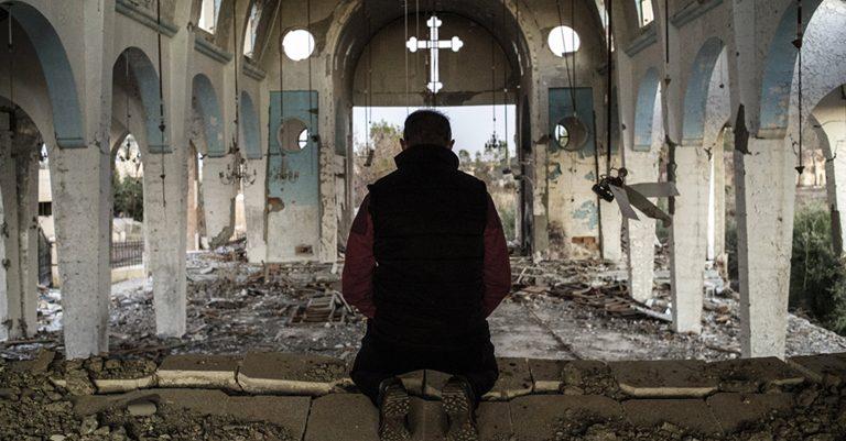 La postura de Iglesia ante los acontecimientos de guerra más recientes.