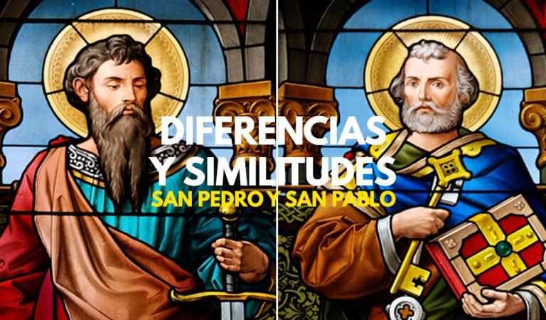 Diferencias y similitudes entre San Pedro y San Pablo