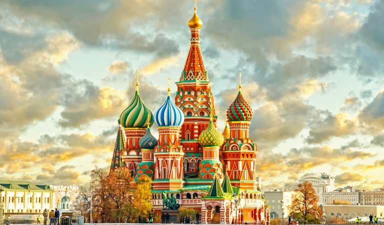 Conoce la Catedral de San Basilio, en Rusia