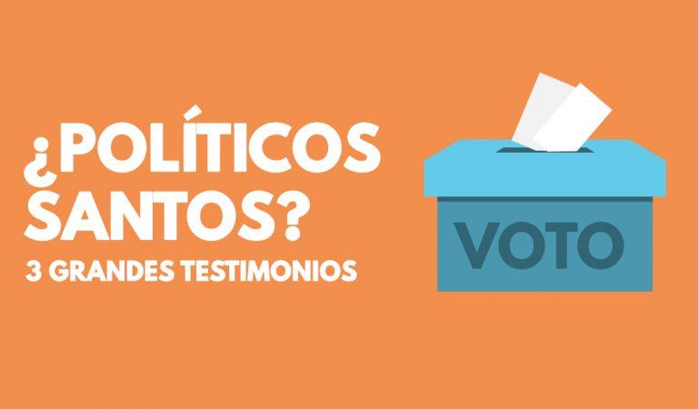 El gran testimonio de 3 político Santos