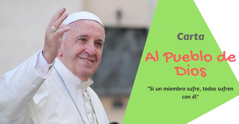 Carta del Papa Francisco al Pueblo de Dios