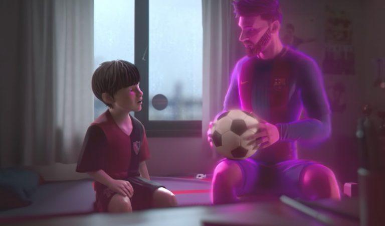 """Algo para reflexionar con el cortometraje de Messi """"HEART OF A LIO"""" ¿Cuál es tu historia?"""