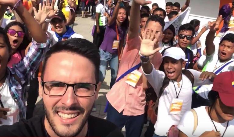 ENAJO 2018 – Los Jóvenes Venezolanos nos contagian de la esperanza de Cristo