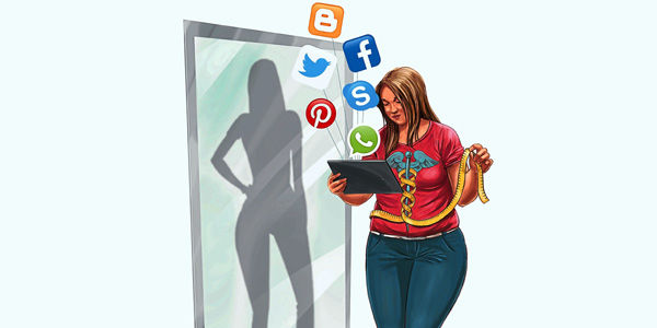 Las redes sociales y los desórdenes alimenticios