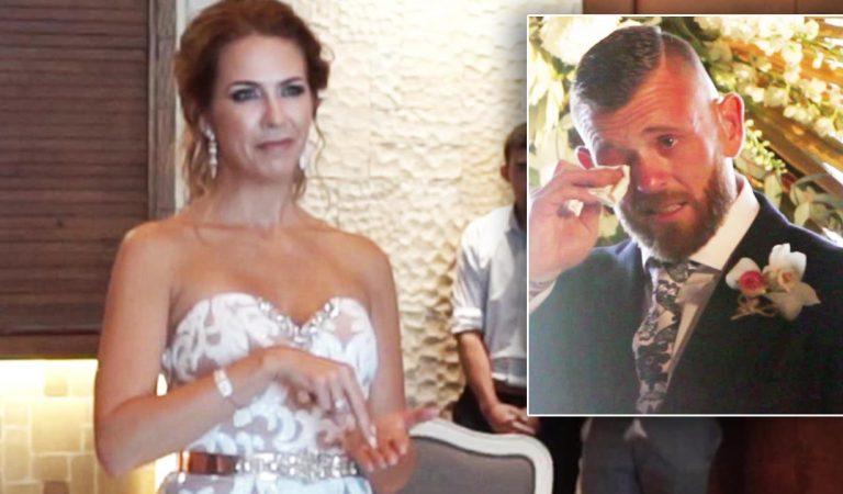 Aprendió el lenguaje de señas para cantarle a su esposo.